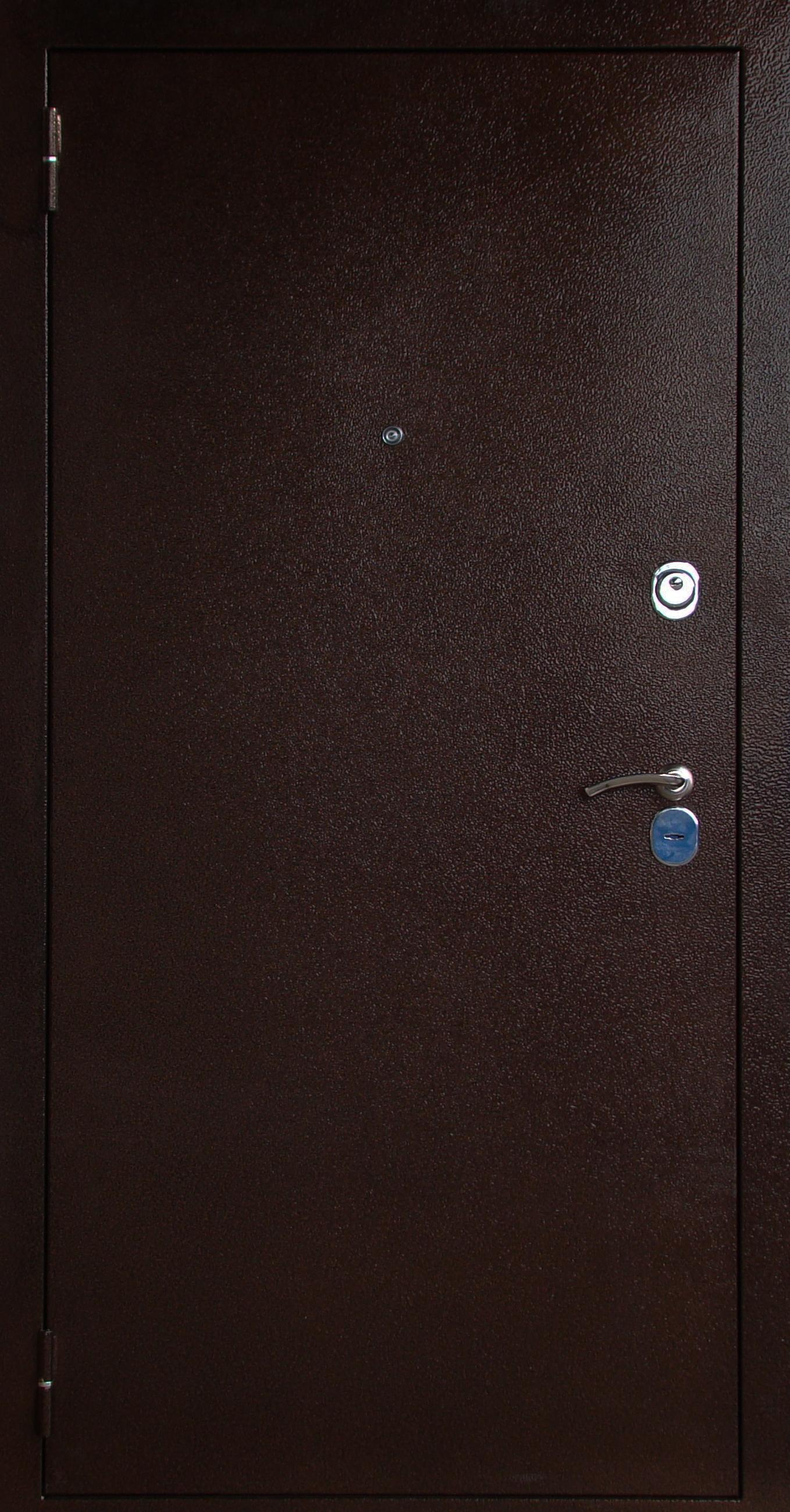 Металлическая дверь Юг-03  Внешняя панель