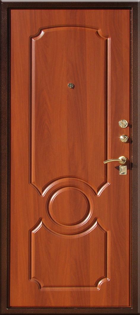 """Металлическая дверь Юг-03  """"Итальянский орех"""""""