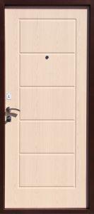 Входная металлическая дверь ЮГ БМД 03 mini Бел.дуб